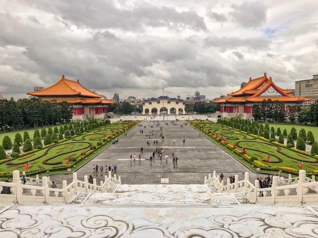 Chiang Kai-Shek Memorial Hall. Taipei, Taiwan