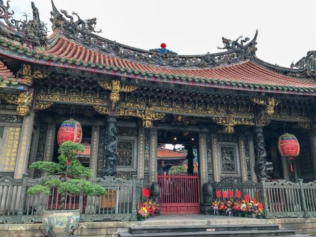 Longshan Temple, Wanhua District. Taipei, Taiwan